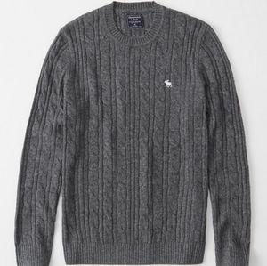 Abercrombie Icob Cable men's sweater XL